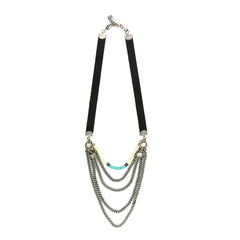 Turquoise Midtown Necklace - Short - SEA Smadar Eliasaf