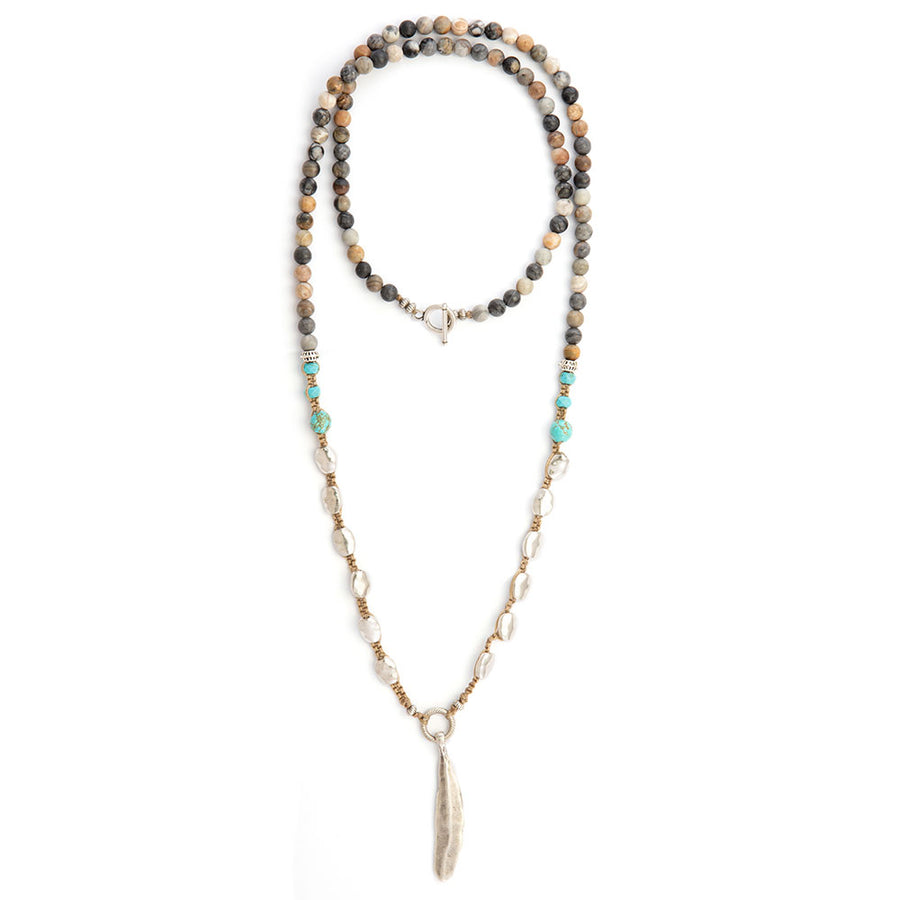 Torqoise Indie Necklace - SEA Smadar Eliasaf