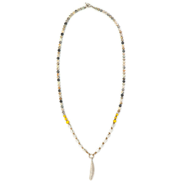Yellow Indie Necklace - SEA Smadar Eliasaf