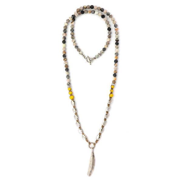 Yellow Indie Necklace