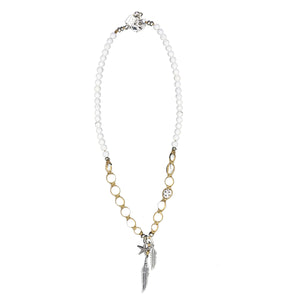 White Seychelles Necklace - SEA Smadar Eliasaf