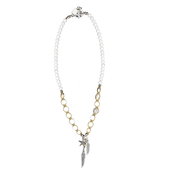 White Seychelles Necklace