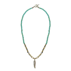 Turquoise Indie Necklace - SEA Smadar Eliasaf