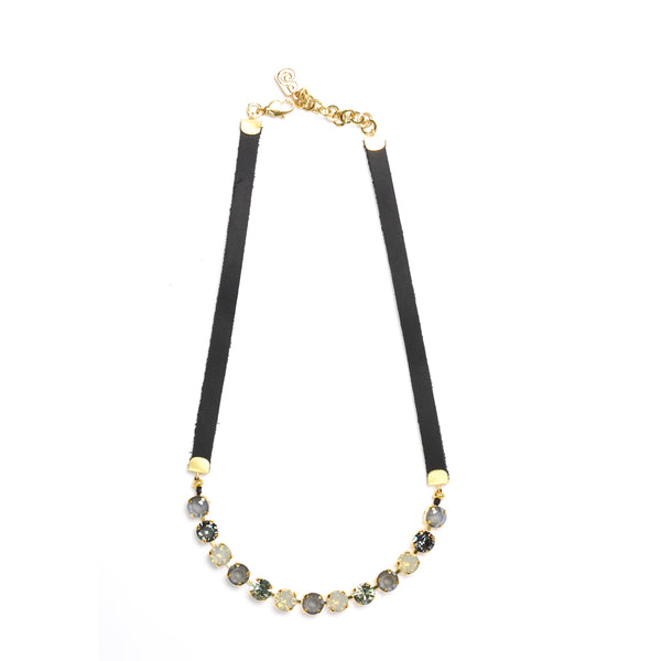 Golden Grey Eye Candy Necklace - Half - SEA Smadar Eliasaf