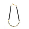 Golden Grey Eye Candy Necklace - Half