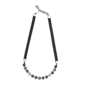 Dark Grey Eye Candy Necklace - Half - SEA Smadar Eliasaf