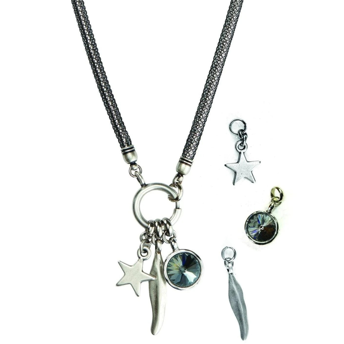 Versatile pendants necklace - SEA Smadar Eliasaf