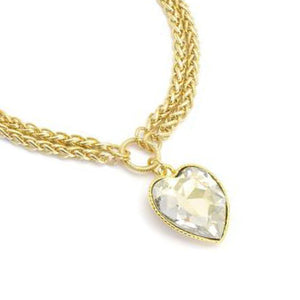 Golden Heart Necklace - SEA Smadar Eliasaf