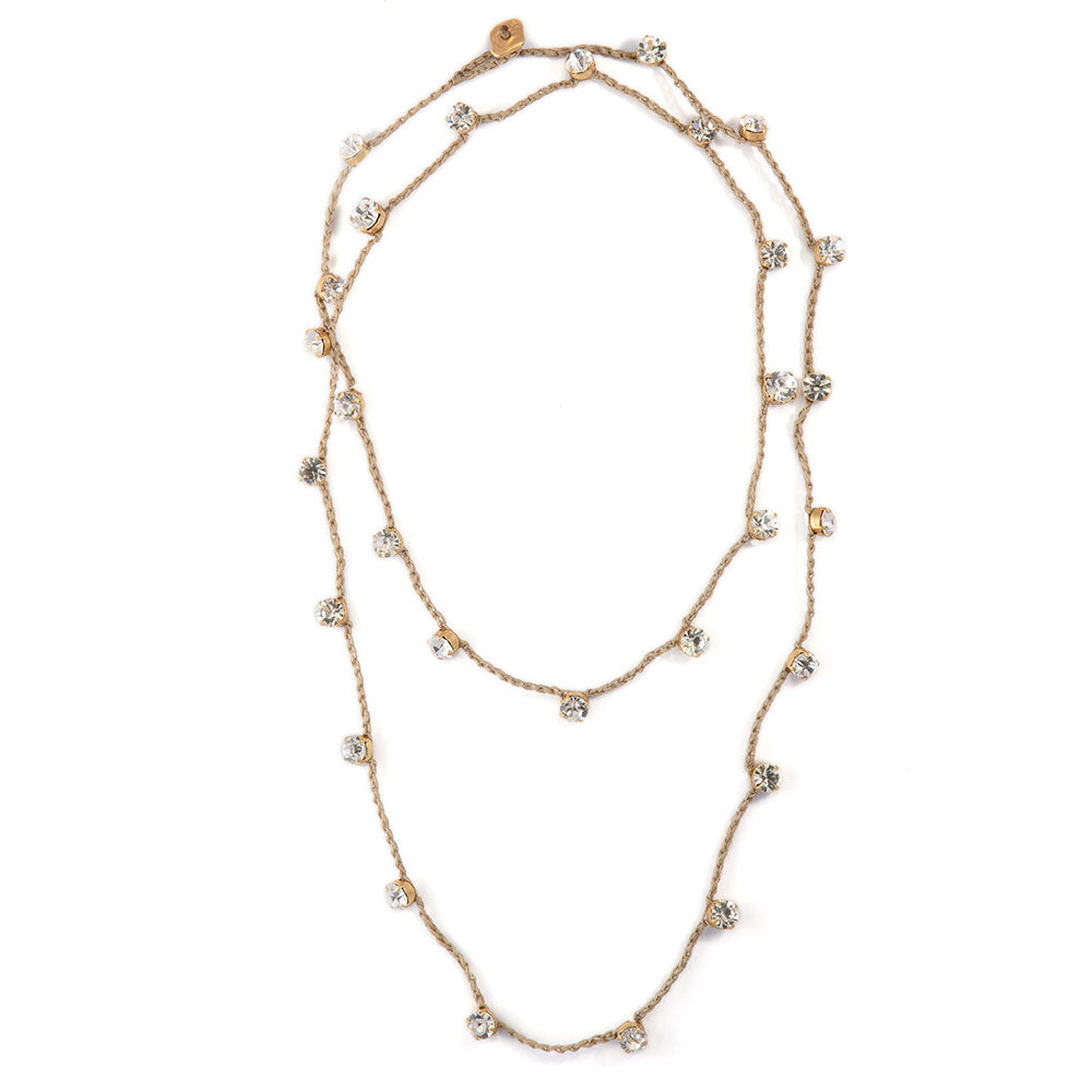 Crystal Dots Necklace - SEA Smadar Eliasaf