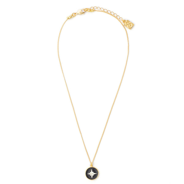 Coin Spark Necklace