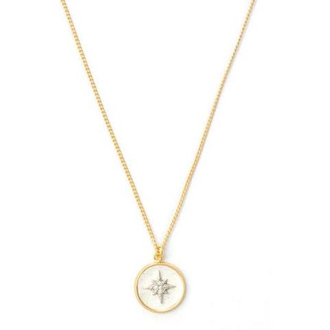 White Spark Necklace - SEA Smadar Eliasaf