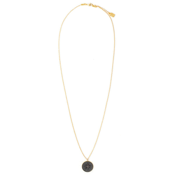 Black Spark Necklace