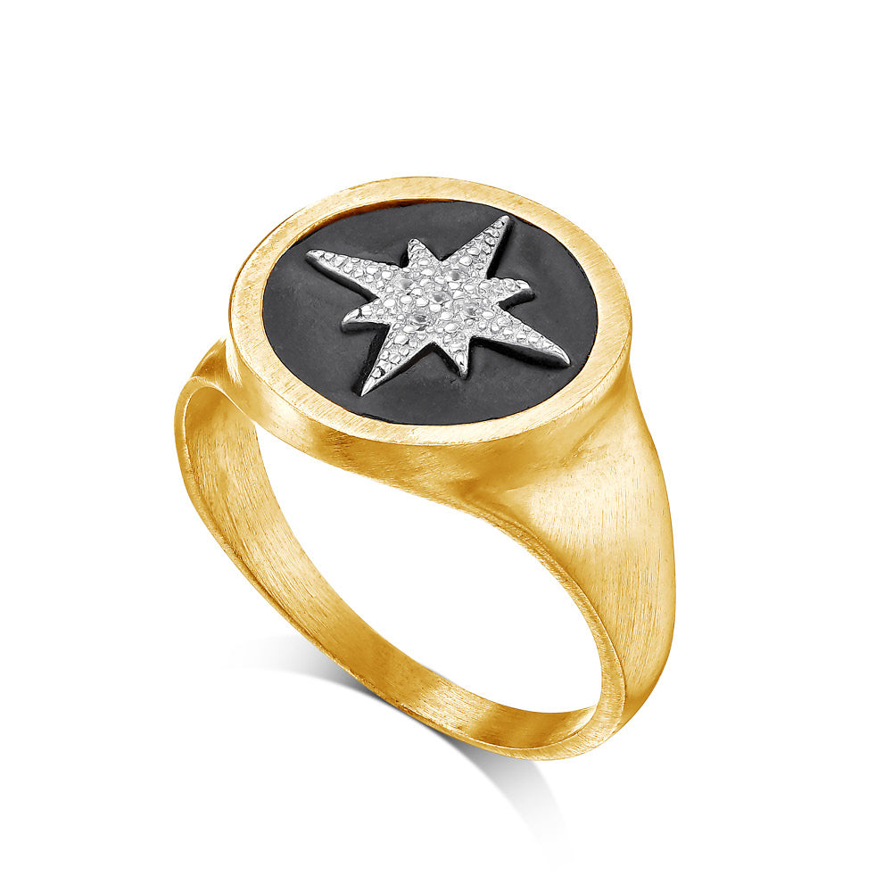 Star Signet Ring - SEA Smadar Eliasaf