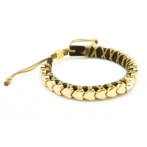 Golden Hearts Bracelet - SEA Smadar Eliasaf