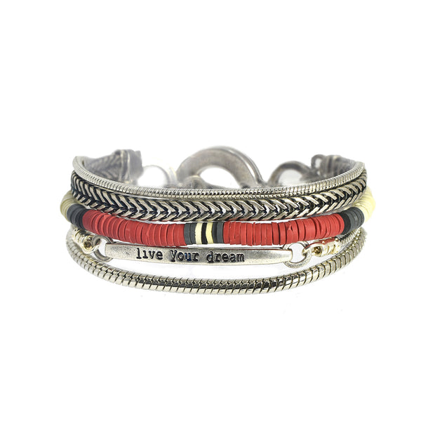 Mini Midtown Red Bracelet