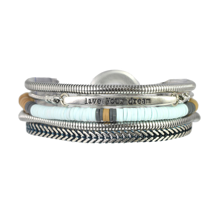 Mini Midtown Light Blue Bracelet - SEA Smadar Eliasaf
