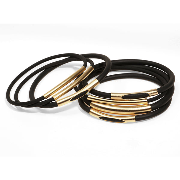 Sleeker Bracelets - Gold