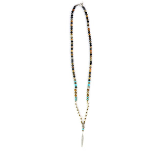 Long necklace with torquise touch - SEA Smadar Eliasaf