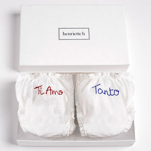 "Set of Panties ""Ti Amo, Tanto"""