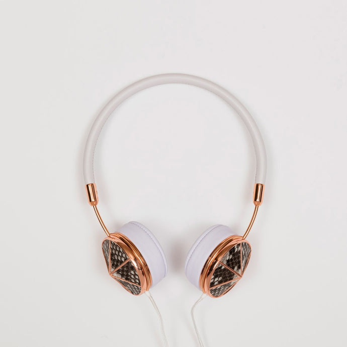 Small Rose Gold Phython Headphones