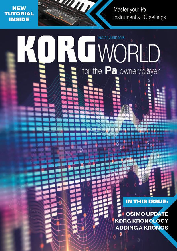 KORG World Magazine Subscription