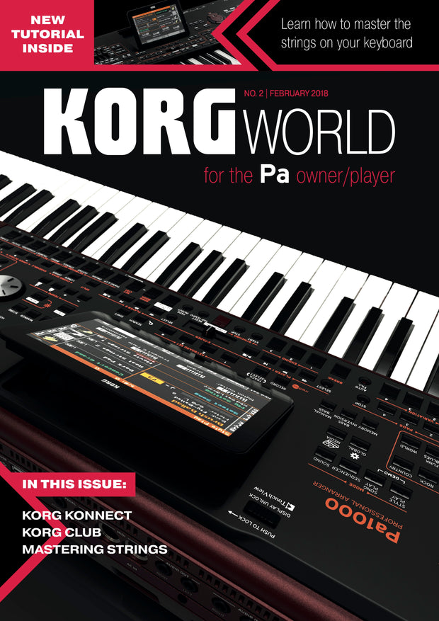 Edition 2 of Korg World Magazine
