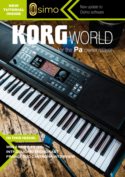 Free copy of KORG World Magazine
