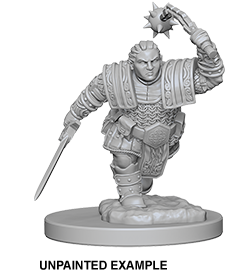 Miniaturas WizKids: Dwarf Female Fighter B - Deposito de Gnomos