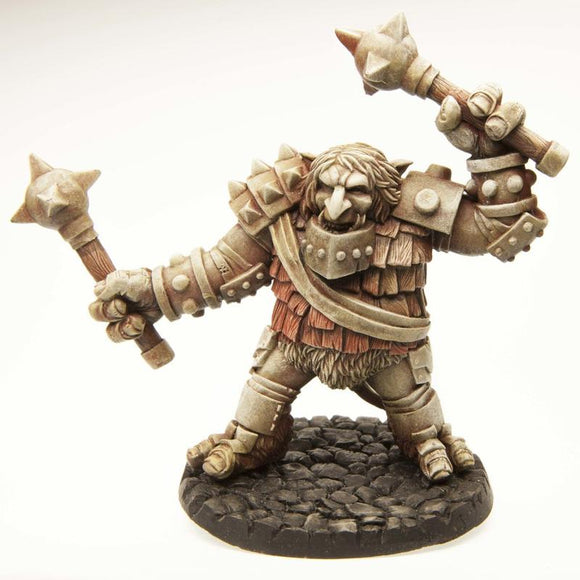 Miniaturas Stonehaven: Troll with Maces - Deposito de Gnomos