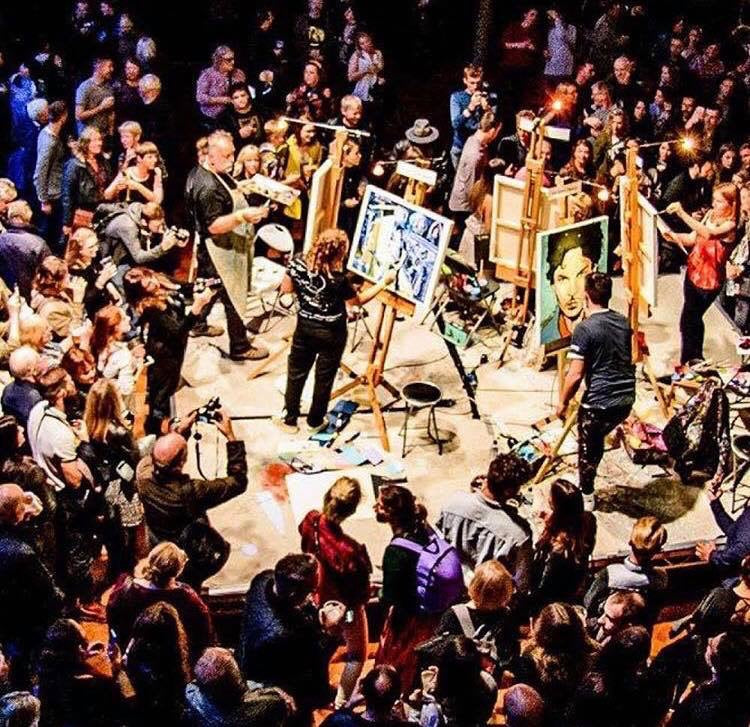 ART BATTLE @ Motion, Bristol TUES 15th May 2018