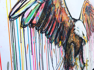 BALD EAGLE SOPHIE LONG ART
