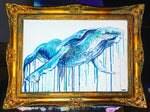 GOLD FRAMED HUMPBACK