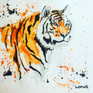 stripes tiger sophie long