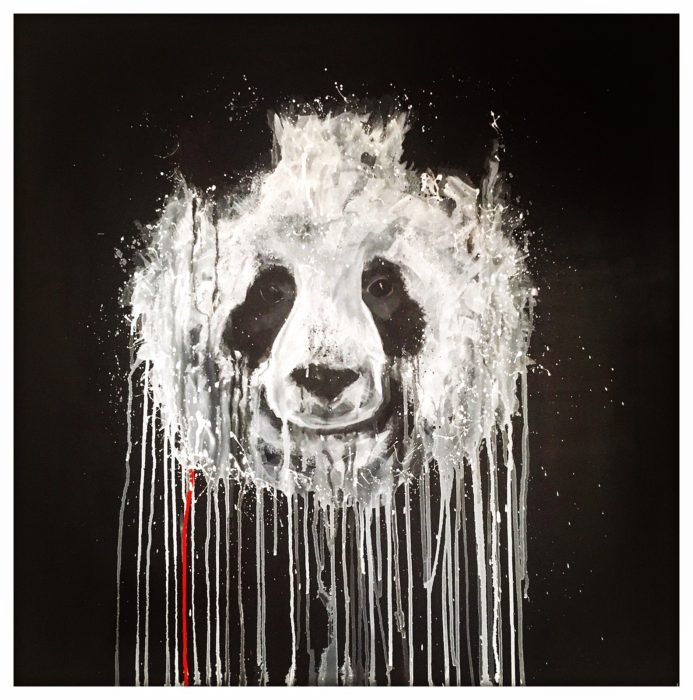 panda pandamonium sophie long art