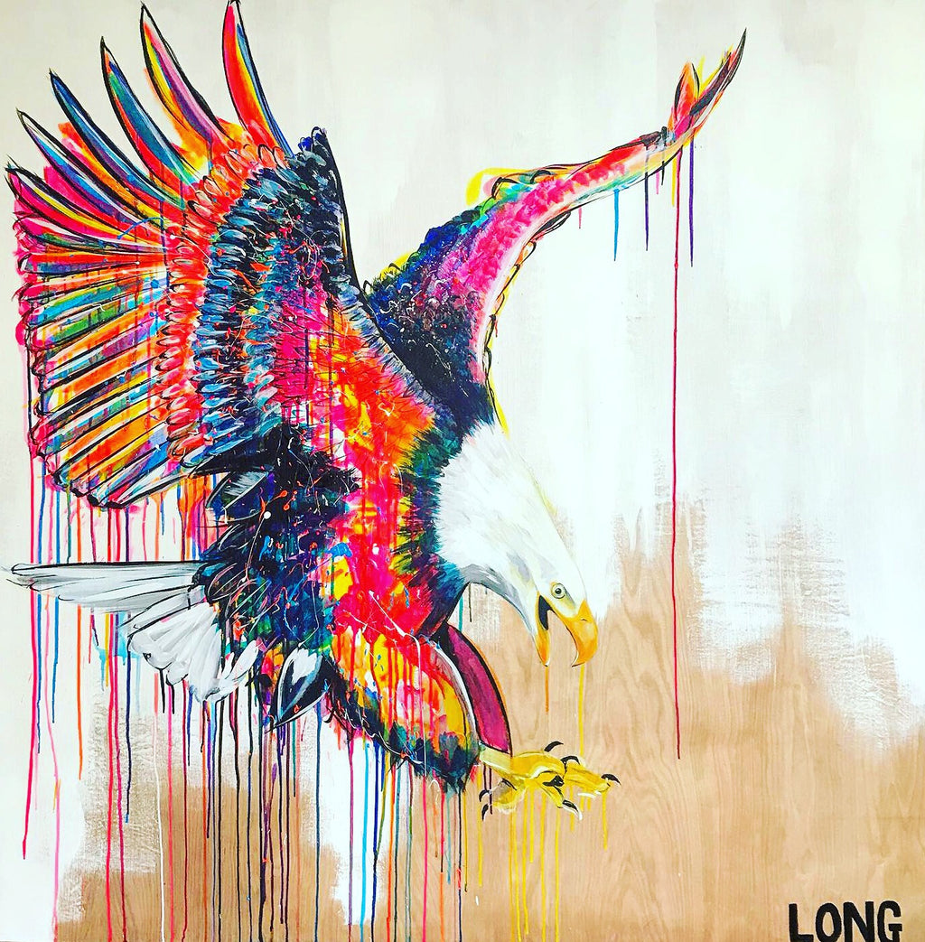 bald eagle contemporary art sophie long
