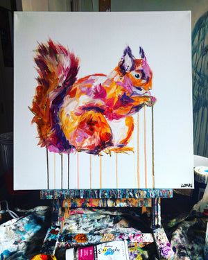 DAY33 #30minuteartchallenge SQUIRREL