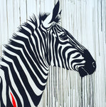 zebra horse sophie long art original sale
