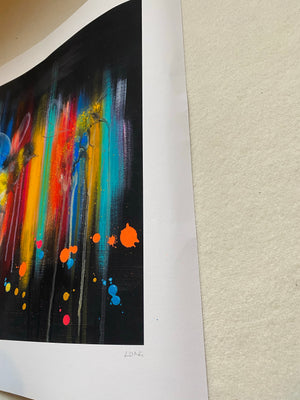 DISCOUNT Limited Edition DYING OUT IN A WORLD OF COLOUR Giclee Print 2