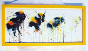 BEEEEE ARTIST PROOF SCREEN PRINT