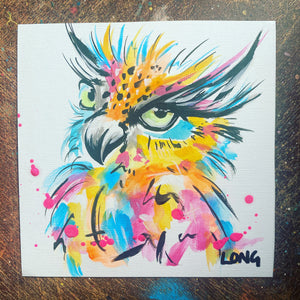 OWL 5 AFFORDABLE ART