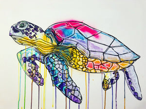 DAY55 #20minuteartchallenge SEATURTLE
