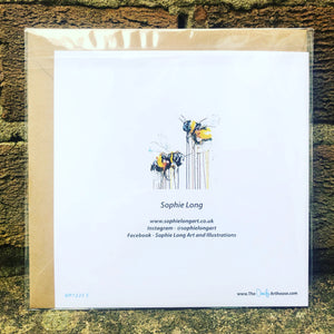 DES ABEILLES GREETINGS CARD
