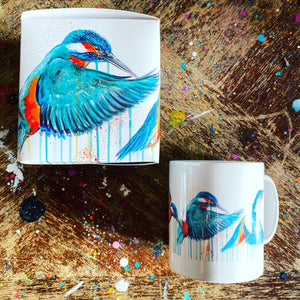 LIMITED EDITION HAND SIGNED IN FLIGHT MUGS