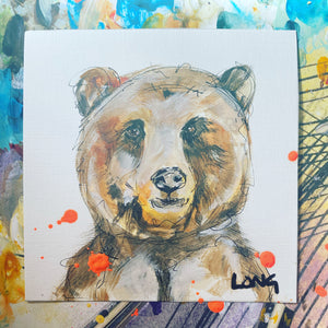 GRIZZLY AFFORDABLE ART