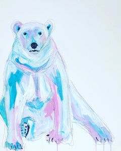 DAY15 #20minuteartchallenge POLARBEAR