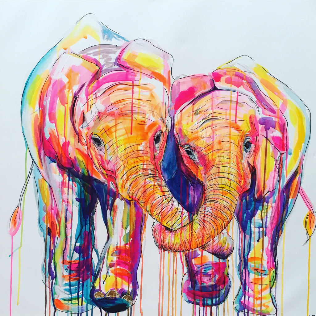 elephant trunks in love sophie long