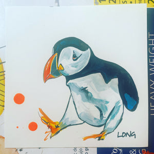 PUFFIN 5 AFFORDABLE ART