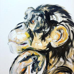 DAY68 #30minuteartchallenge CHIMP