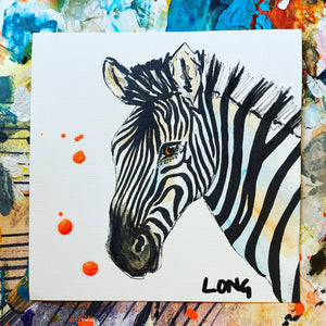 ZEBRA 6 AFFORDABLE ART