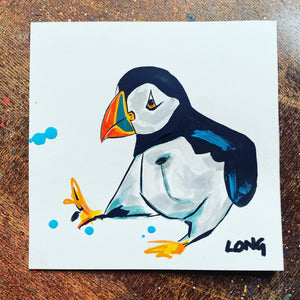 PUFFIN 8 AFFORDABLE ART